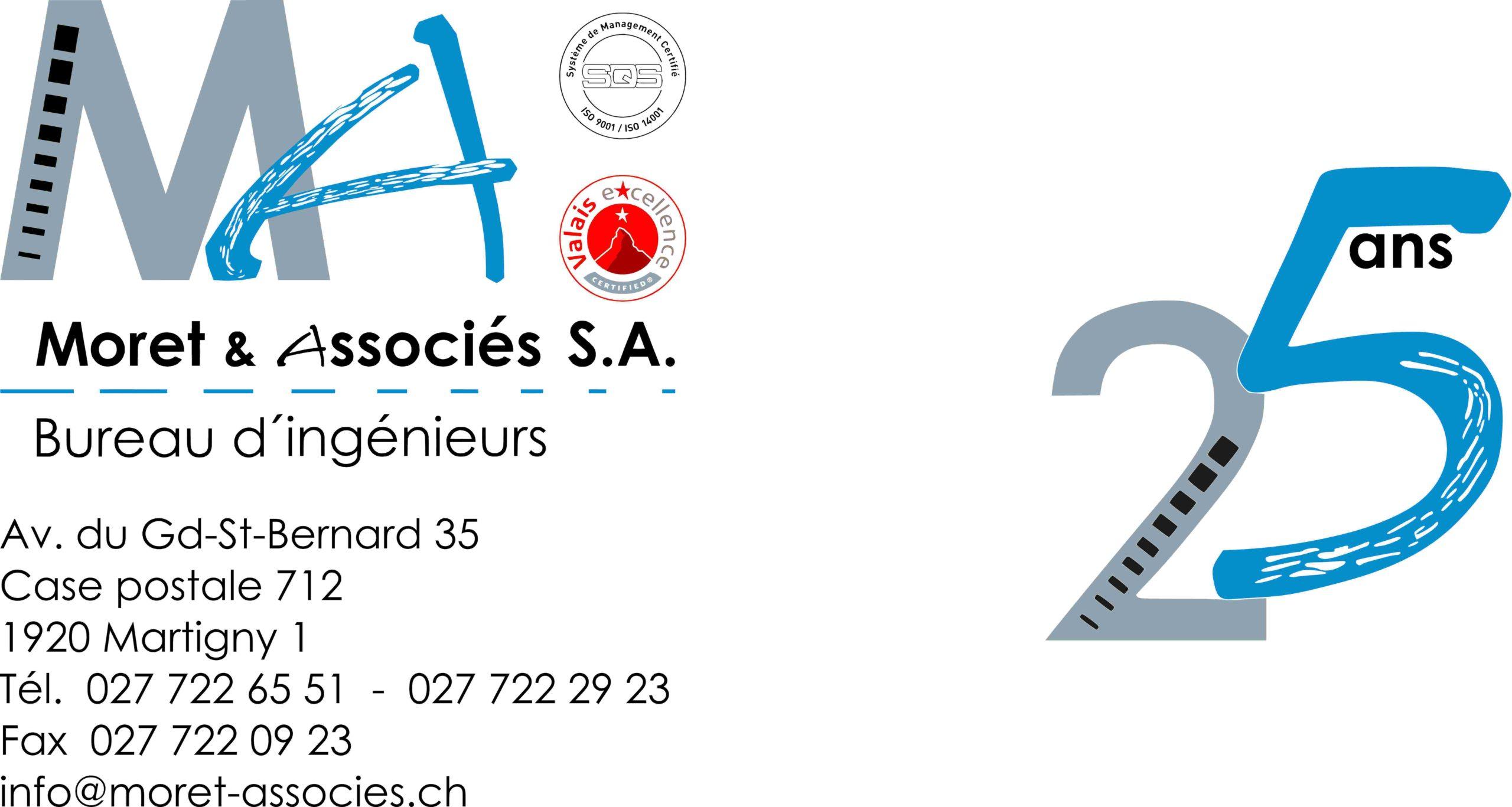 Bureau d'ingénieurs Moret & Associés SA