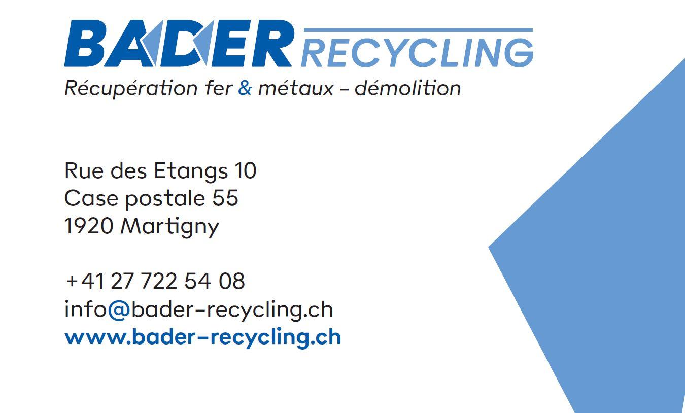 Bader Recycling Sàrl
