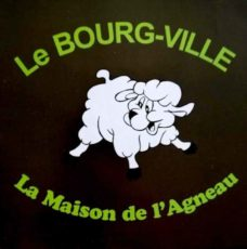 Restaurant Le Bourg-Ville, la maison de l'agneau