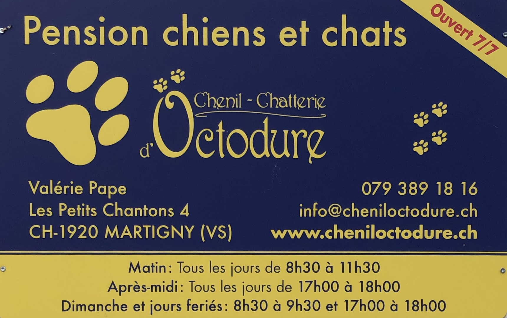 Chenil-Chatterie d'Octodure